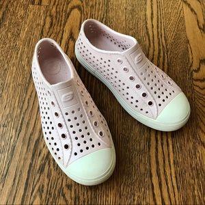 Skechers Guzman Shimmer Pink Slip-ons Water Shoes